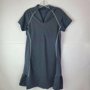 Adidas Black Climacool Tennis Dress Athletic Sz 6